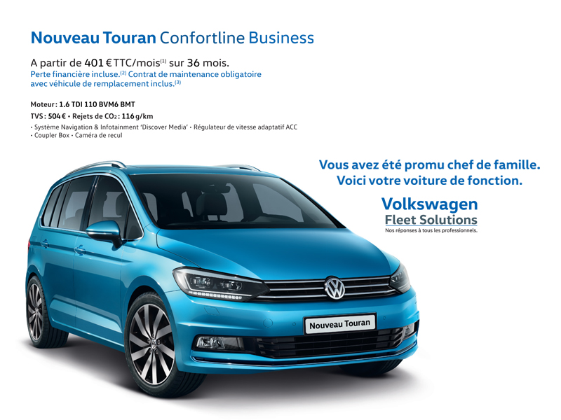 Nouveau Touran Confortline Business